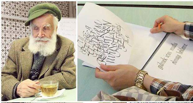 Etem Çalışkan Hocamız Önderliğinde Kaligrafi Dersleri...